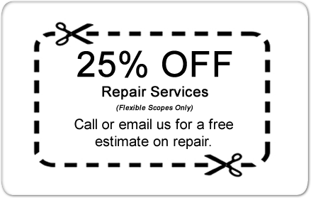 25% off repair service coupon